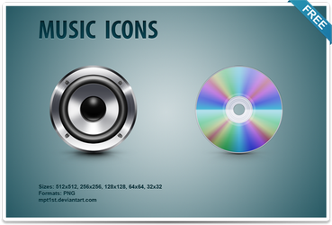 Music Icons by mpt1st