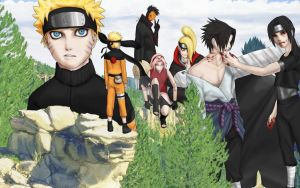 Naruto collage 2 by tcumm001