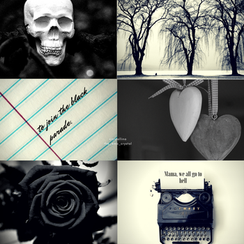 aesthetic #2 |the black parade| by snowflake20006