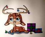 Raindeer by wolf-karpova