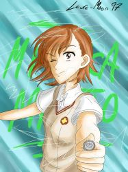 Misaka Mikoto by Laura-Moon97