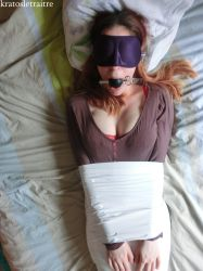 Little Mummification with White Tape by kratosletraitre