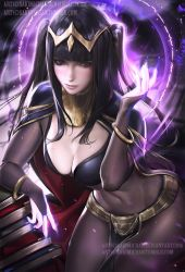 Tharja .nude/NSFW optional. by sakimichan