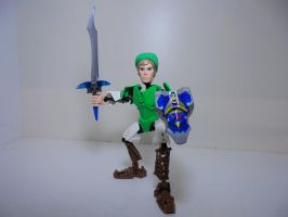 Link (Buildable Action Figure MOC) Picture 2 by Eli-J-Brony