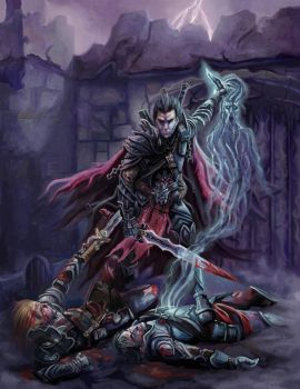 The Fallen Paladin by DrStein