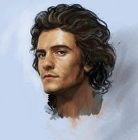 Orlando Bloom for Gilbert Einhander by Feael