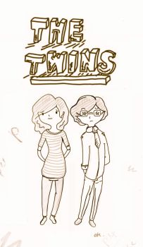 Are You Human Character Thing - Twins by moonsloth