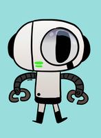 Gumball: Bobert The Robot by SugarKills