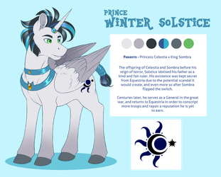 Ref WinterSolstice by PeridotKitty