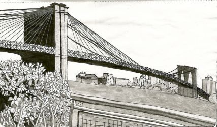 Brooklyn Bridge by xyrophiliac