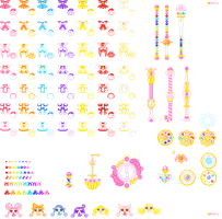 all doremi pixels untill now by orenji-seira