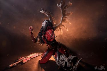 Doom Dota 2 cosplay by amio-mio