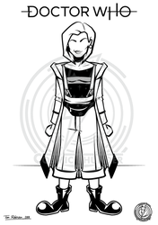 13th Doctor by CosmicThunder