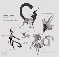 Design Trade: Emergent for Junijwi by Pepperoonie