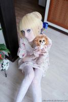 Kawaii Saber + Lion :3 by palecardinal