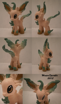 OOAK Leafeon G4 Custom by WinterSparkle