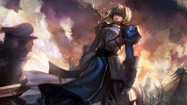 fate zero saber by ayhan63