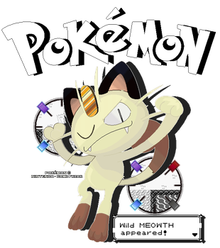 The Cat With The Best Pay Days - Meowth by FierceTheBandit