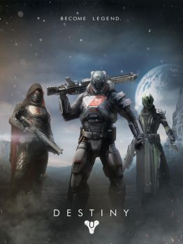 Destiny - Poster Art by dmorson