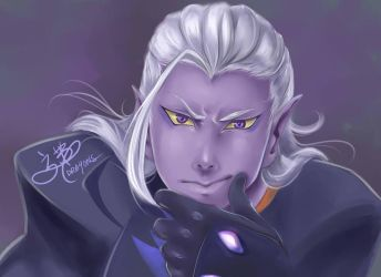 Prince Lotor by DRA9ONS