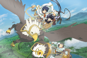 Log Horizon -Flying in the sky- by Miizu-Kun