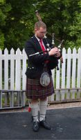 Scottish Bagpipe Player by StarRose17