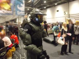 Master Chief Cosplayer by Collioni69