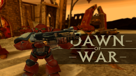 Dawn of War Space Marine by coryrj1995