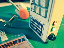 Alien: Isolation - Portable Console (c) by pocko-85