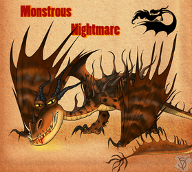 Monstrous Nightmare species by SenterVeris
