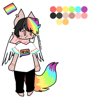 Pride adopt 1 - CLOSED by Bluerabbit133
