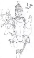Germanesque Steampunk Officer by Imperator-Zor