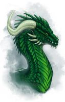 Emerald Wyvern by Adalfyre