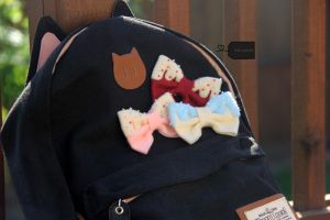 Felted Pastry Bows by FluffyParcel