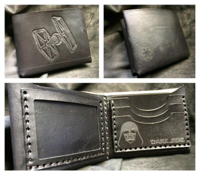 The Dark Side Vader wallet by Skinz-N-Hydez