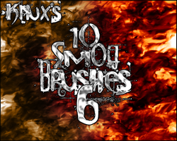 Knux's Smog Brush Pack 6 by Knux57