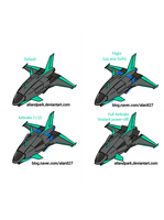 ADPI MF-28 'Cetus' (Airbrake appearances) by StrayCat-Terry