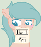 Thank you for Coming by RinTheDrawer