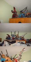 Part of my Zoid collection by GhostLiger