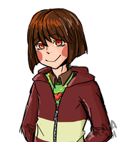 Color Testing - Undertale - Chara by ArtisticAnimal101