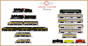 Grand Canyon Railway by Andrewk4