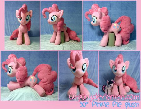 30 inch Pinkie Pie plush by qtpony