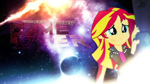 Game is Over Sunset Shimmer by EmptyGrey
