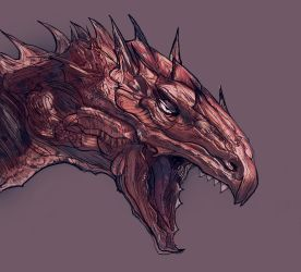 Dragon Head by Zero-Optix