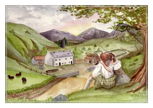 Lallybroch by paintedponygirl
