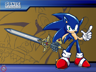 CM: Sonic and the black knight :Sonic battle: by shadowhatesomochao