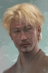 Ichi the killer_fanart by cloudintrousers
