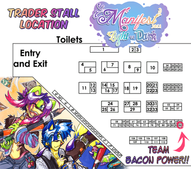 Manifest 2013: Stall Location! by carnival
