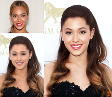 Ariana Grande and Beyonce Fusion by Tigersquall96