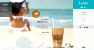 Beachclub - Fullscreen Wordpress Theme